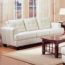 Leather Tufted Sofa Modern Tufted Sofa A White Leather Tufted Sofa Do You Think It