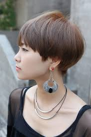 short hairstyles as seen from behind side view of cute short haircut with bangs hairstyles weekly