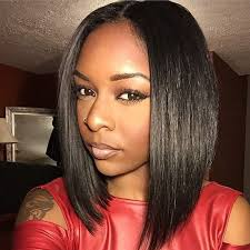 best hair to use for a bob brazilian human hair bob wigs for black women short hair lace