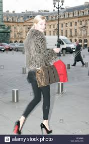 street fashion paris autumn winter out and about in christian