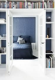 Schlafzimmer Blaue Wandfarbe Wandfarbe Taubenblau 21 Moderne Einrichtugsideen