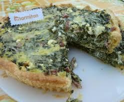 cuisiner le vert des blettes quiche au vert de blette et féta recette de quiche au vert de