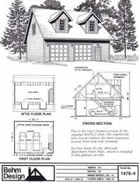 Victorian Garage Plans G514 24 X 24 X 9 Loft Garage Plans In Pdf And Dwg Shops