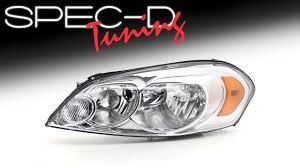 Monte Carlo Lights Specdtuning Demo Video 2006 2013 Chevy Impala 2006 2007 Monte