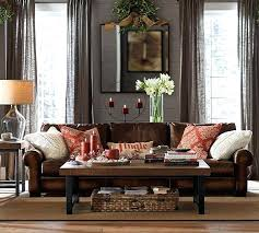 Living Room Ideas With Leather Sofa Charming Leather Pillows Vrogue Design