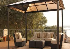 Vinyl Patio Cover Materials by Pergola Wonderful Creamy Vinyl Canopy Gazebo With Domed Top And