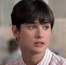 demi moore haircut in ghost the movie loved the movie but not the hair sorry demi 1990 film