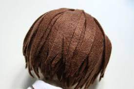 felt hair amigurumi felt hair kalulu for