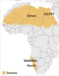 africa map deserts news africa are the deserts getting greener