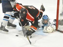 ice hockey wilton routed by rival ridgefield the hour