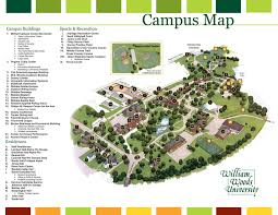 University Of Virginia Campus Map by Campus Map For William Woods University By Jennalsommers On Deviantart