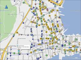 Panama City Map Tramsoft Gmbh Garmin Mapsource South America English