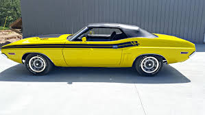 Dodge Challenger Yellow - fall in love with the 1971 dodge challenger r t convertible