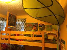 turn a mydal bunkbed into kura loft bed ikea hackers bunk