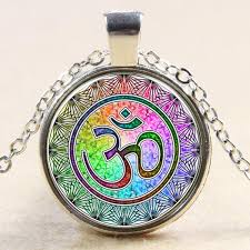 pendant necklace india images Om yoga india pendant necklace himalayan product shop jpg
