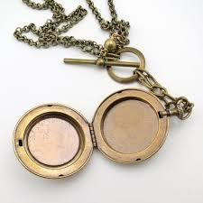 monogram locket necklace jan monogram locket front toggle necklace talich