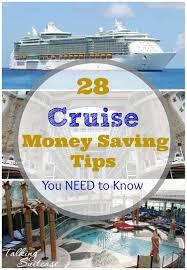 cruise money saving tips