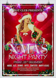 party flyer free free xmas party flyer hollymolly