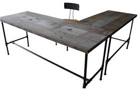 Wood Desks Home Office 33 Stunning Reclaimed Wood Desks