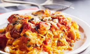 comment cuisiner une courge spaghetti gratin de poulet et courge spaghetti le poulet du québec