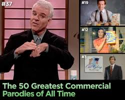 the 50 greatest commercial parodies of all time nerve
