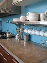 Concrete Kitchen Countertops 39 Minimalist Concrete Kitchen Countertop Ideas Digsdigs