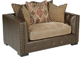 Rooms To Go Living Room Furniture by Eric Church Highway To Home Hickory Canyon Brown Chair Chairs