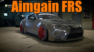frs with lexus bumper need for speed 2015 aimgain frs youtube