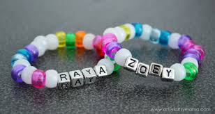 make friendship bracelet beads images Easy kids friendship bracelets artsy fartsy mama jpg