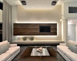 Sparkly Back Wall Looks So You  Modern Family Room Design - Modern family room decor