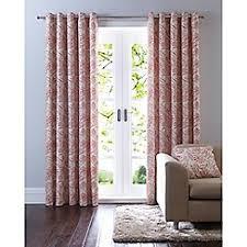 Orange Patterned Curtains Ready Made Curtains Debenhams