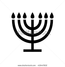 seven branched menorah seven branched menorah stock images royalty free images vectors