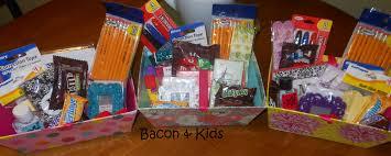 Office Gift Baskets Office Supplies Bacon U0026 Kids