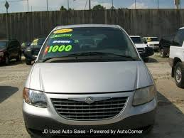 2002 chrysler voyager information and photos zombiedrive