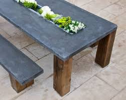 concrete and wood outdoor table concrete patio table concrete patio table ysx5vd cnxconsortium