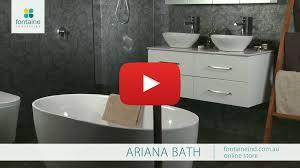 ariana freestanding bath tub bathtub small compact clever 1300