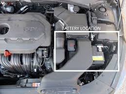 how to change battery on kia optima 2011 2016 diy