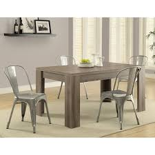 amazon com monarch reclaimed look dining table 36 by 60 inch
