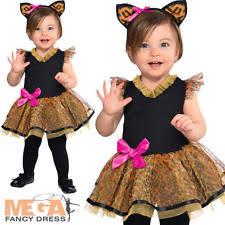 Kids Cat Halloween Costume Girls Cat Halloween Costumes Ebay