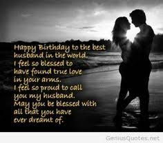for my husband inspirational thoughts birthdays