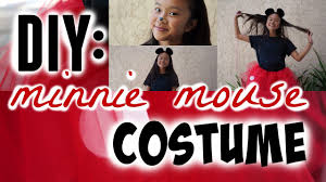 minnie and mickey mouse halloween costumes for adults diy simple u0026 super cute minnie mouse halloween costume diy tutu