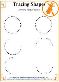 worksheet shapes range tracing shapes worksheets and activities