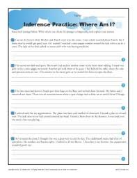 where am i more inference practice for middle