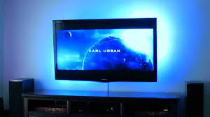 ambient light behind tv scimo hdmi dynamic home theater ambient lighting youtube
