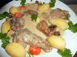 cuisiner un coq au four recette de coq au chagne