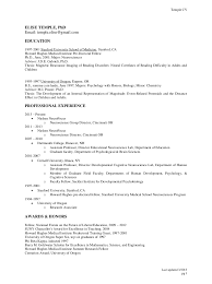 Stanford Resume Template Temple Resume Format Resume Cv Cover Letter