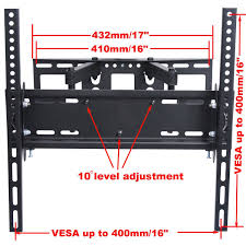 Wall Mount For 48 Inch Tv Amazon Com Videosecu Articulating Tv Wall Mount Bracket For 26