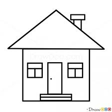 house to draw how to draw house kids draw