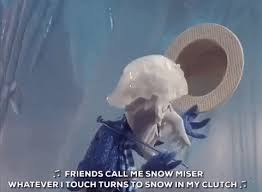snow miser christmas movies gif find u0026 share on giphy