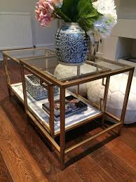 gold side table ikea ikea round coffee table writehookstudio com